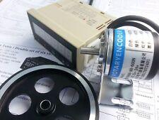 DC24V Counter Grating Display Meter + Length Wheel + Encoder + Support Kits