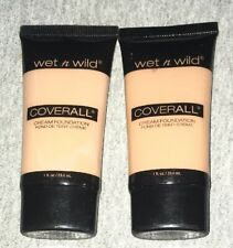 WET N WILD Coverall Cream Foundation LIGHT MEDIUM 818 NEW cover all