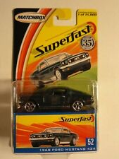 Matchbox Superfast 2004  -  1968 FORD MUSTANG 428 Nr 52 NEU-OVP