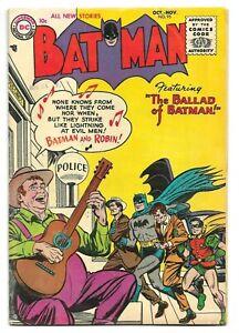 Batman #95, 1955 DC Golden Age 6.5 Rare Find Beauty!