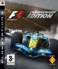 F1 Championship Edition PS3 New and Sealed Formula One Championship Edition