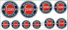 1:43 O SCALE STUDEBAKER SERVICE GARAGE SIGN GAS STATION TRUCK DIORAMA DECALS