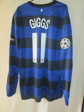 Manchester united giggs 2011-2012 away ls football shirt xl bnwt/40717