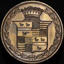 More details for c.1920's | cadillac car radiator badge | badges | km coins