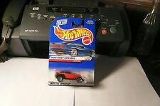 "1998 HOT WHEELS FIRST EDITIONS #17 ""JEEPSTER"" - CANADIAN VERISION moc"