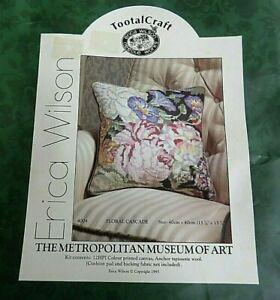 Brand new needlepoint kit Floral Cascade Erica Wilson Metropolitan Museum of Art