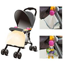Baby Pram Stroller Trolley Blanket Toy Clip Holder 2 pack Safety Clip Pram Peg