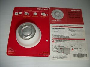 Honeywell The Round Non-Programmable Heat Only Thermostat CT87N