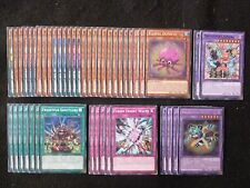 YU-GI-OH 46 CARD FRIGHTFUR TIGER / FLUFFAL / EDGE IMP DECK  *READY TO PLAY*