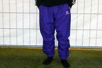 Sergio Tacchini Herren vintage Trackpants Lila Pants  Gr. L HB4