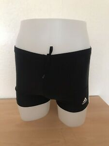MENS ADIDAS INFINITEX CLASIC BLACK SWIMMING TRUNKS SIZE SMALL NEW IN BAG