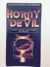 Horny Devil for Women Sexual Enhancer 12 Pills-Visit our Ebay Store for Specials