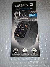 Catalyst Waterproof Case & Band Apple Watch 44mm Series 4- Black OPEN BOX