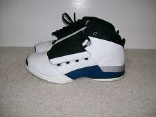 OG SZ 10.5 Nike Air Jordan XVII White Blue 302720-141 IV XI VI IX XII V X 1 III