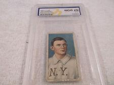 1909-11 Base Ball Card Doc Crandall  T206 Sweet Caporal  No Cap