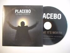 PLACEBO : FOR WHAT IT'S WORTH ♦ CD SINGLE PORT GRATUIT ♦