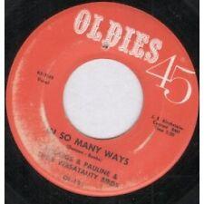 45 U/min Single 7'' Vinyl-Schallplatten (1950er) mit R&B, Soul