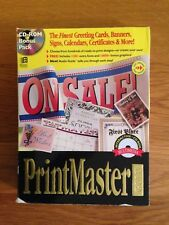 PrintMaster Gold Publishing Suite - with guide - Reduced!