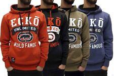 Ecko Men's Overhead Designer Graphic Hoodie, New Hip Hop Star Era, G, Jacket, Mc