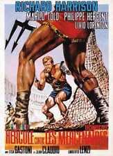Última Gladiator Poster 03 Letrero De Metal A4 12x8 Aluminio
