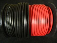 10 GAUGE WIRE 10 FT EA RED BLACK  HOOK UP AWG STRANDED COPPER PRIMARY  POWER
