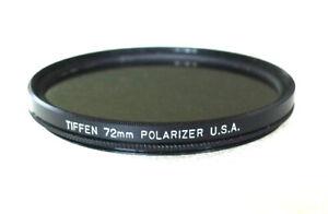 72mm Tiffen Polarizer Filter - Slim Linear Polarizer - PERFECT