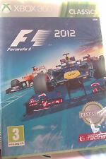 "JEU XBOX 360 ""F1 2012"" (La Meilleure Simulation De F1) Codemasters NEUF BLISTER"
