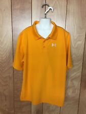 BOY'S UNDER ARMOUR SHORT SLEEVE POLO TOP-SIZE: LARGE