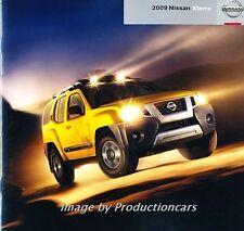 2009 Nissan Xterra 24-page Original Car Sales Brochure Catalog