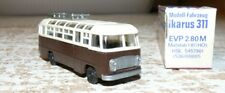 T6  Modell-Fahrzeug Ikarus 311 Omnibus braun  DDR Produkt in OVP Spur HO