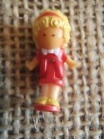Vintage Polly Pocket Bluebird 1989 Polly's Cafe & Townhouse Doll Figure