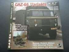WWP GAZ 66 variants ZU 23-2 in detail N°16