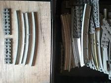 LEGO Eisenbahn 12V 10 grigio grigio Binari Rotaie di potenza Curva