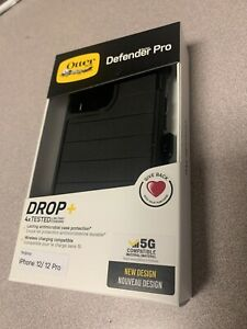 BRAND NEW OtterBox Defender Pro Series Case for iPhone 12/iPhone 12 Pro Black