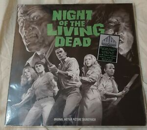 Night of the Living Dead 50th anniversary soundtrack 2 LP set GHOUL GREEN horror