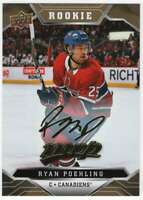 2019-20 Upper Deck MVP Hockey Gold Script #249 Ryan Poehling Canadiens