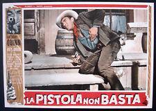 CINEMA-fotobusta LA PISTOLA NON BASTA quinn,jurado,whitney,HORNER
