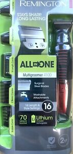 NEW Remington Multigroomer 4100 All-in-One Hair Clipper Cordless Rechargeable