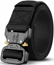 Men's Tactical Belt, Strong Quick Release Adjustable Military Heavy Duty