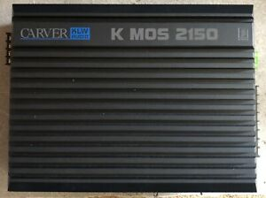 New Old School Carver KLW Audio KMOS 2150 2 Channel Amplifier,NOS,USA,Rare