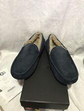 New In Box Ugg AUSTRALIA Men'S Ascot Moccasin Slipper Shoes New Navy US 9