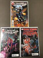Amazing Spider-man #651 - 653 Lot of 3 Comics NM 9.4 - 9.6 ASM