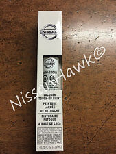 """OEM Nissan Touch-Up Paint + Clear Coat """"MOONLIGHT WHITE"""" Color Code QAB"""