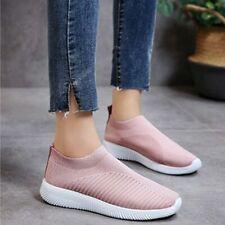 Women's Trainers Mesh Sport Running Sneakers Slip Tennis Breathable Sock Shoes