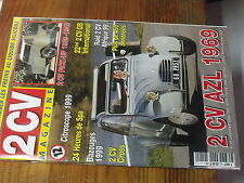 7µ?§ Revue 2CV Magazine n°12 Passer frein liquide silicone 2CV AZL 1969 2CV 1939