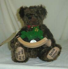 Hermann Mohair 10in teddy bear special edition 91 of 100 Toy Fair 2000 106164