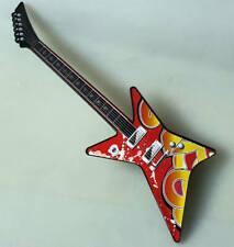 Kinder Elektronische Gitarre mit An & Ausschalter verschiedenen Tönen ca 42 cm