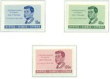 J.F. KENNEDY - CYPRUS 1965 set