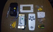 CEILING FAN CONTROL SYSTEM_ IN WALL AND REMOTE CONTROL _ COMPLETE WITH RECEIVER!