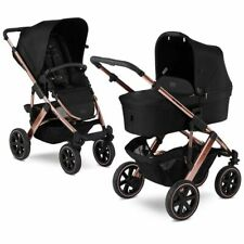 ABC Design Salsa 4 Air Pushchair & Carrycot - Rose Gold